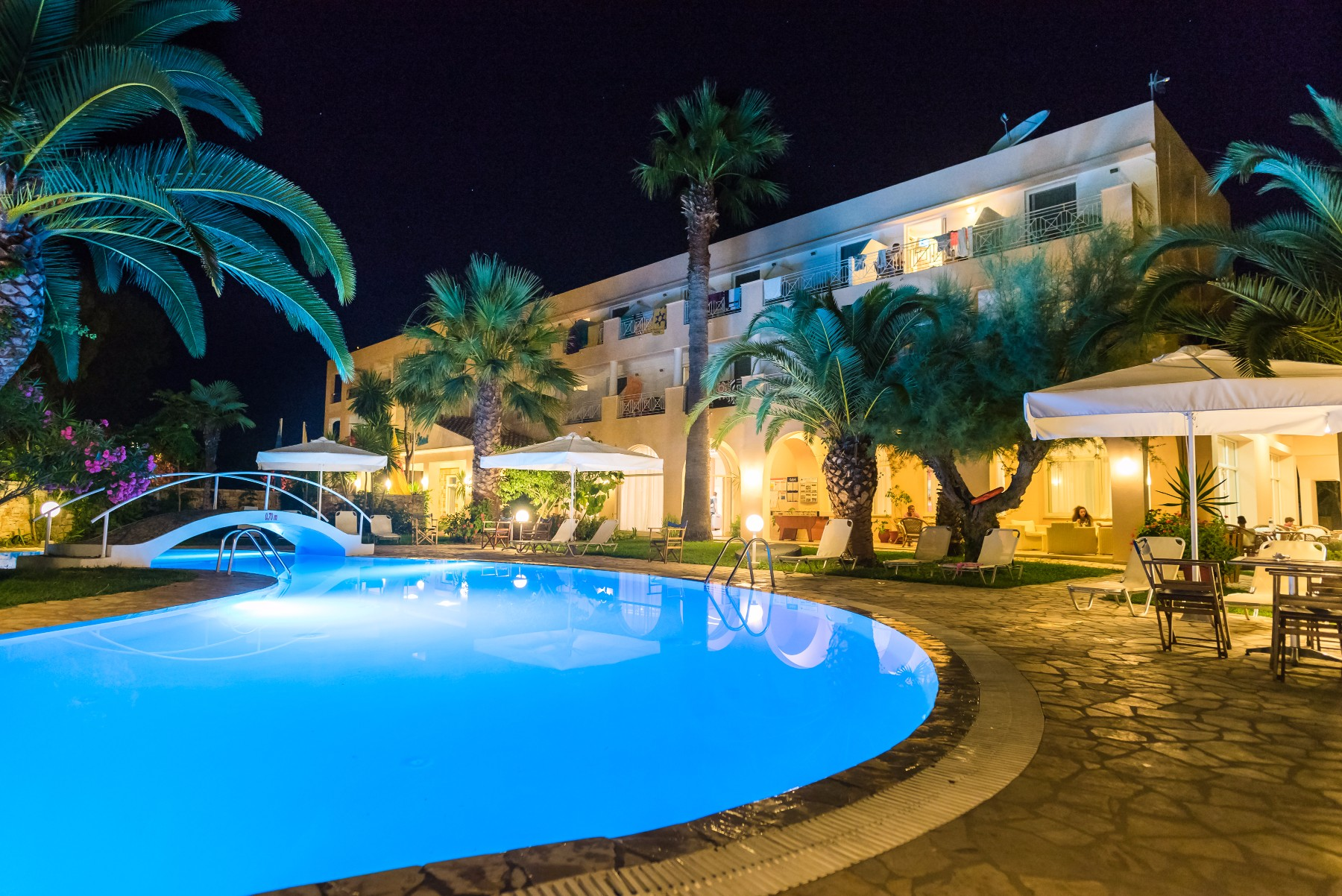 Three Stars Hotel Village, Moraitika, Corfu